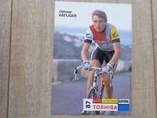 wielerkaart 1987 team toshiba look othmar hafliger
