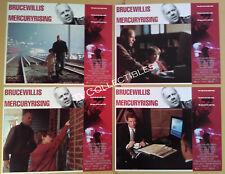 Lobby Card Set~ MERCURY RISING ~1998 ~Bruce Willis ~Alec Baldwin ~Miko Hughes