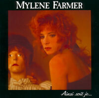 Mylène Farmer CD Ainsi Soit Je... Picture Disc, Jewel case - France PMDC (M/EX+