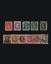 Vintage: Brazil 1878-79 Usd,Bh,Lh Scott # 68-77 $ 237.75 Lot # Bra1878B20
