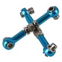 2 Stk 102017 Blaue Aluminium Legierung Rc1: 10 Verknüpfungen Lenkungen Für  G4B5