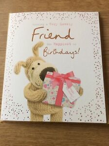 Lovely Friend Birthday Card By Boofle Ladies/female/girls