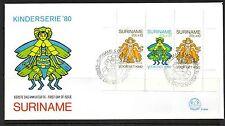 Sheet Surinamese Stamps
