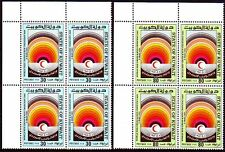 Kuwait 1981 ** Mi.889/90 Bl/4 l.o. Red Cross Rotes Kreuz Medizin Medicine