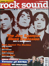 ROCK SOUND 13 1999 Jon Spencer Blues Explosion RATM Estra Suede Inger Lorre Afa