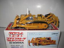 Komatsu D 355 A Bulldozer Ripper Ocre Diapet 1:50 Emballage D'Origine