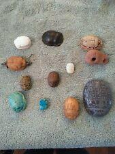 Egyptian scarabs