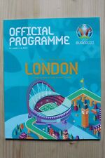 More details for euro 2020 - uefa tournament programme - london england edition (official)