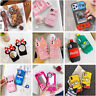 Cute 3D Cartoon Silicone Kid Case For iPhone 12 Pro 11 Pro Max 7 8 Plus XR Cover