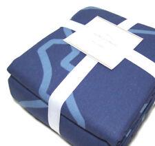 Pottery Barn Multi Color Blue Trisha Geo King Cal King Duvet Cover 2 Shams New