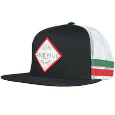 SSUR Plus Heat Trucker Snapback Hat Green Adjustable Rebel Army Offical Headwear
