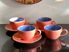 Lindt Stymeist Colorways Set of 4 Cups and 3 Saucers