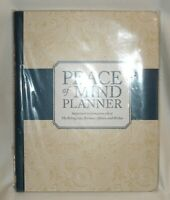 NICE Peace of Mind Planner Plastic Binding HB by Peter Pauper Press NEW Sealed