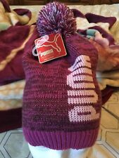 9d334147fee Puma Evercat Shimmer Pom Beanie Pink   Purple Women s Winter Hat NWT