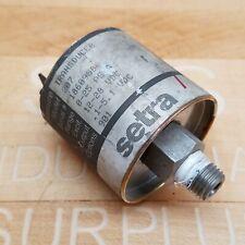 Setra Pt No 207 0 25 Psig Pressure Transducer Used