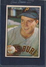 1953 Bowman #016 Bob Friend Pirates Fair 53B16-122215-1