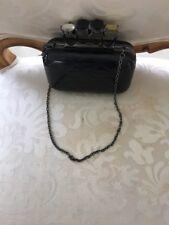 JNB Black Knuckle Bag Clutch