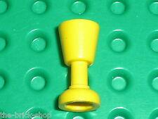 Verre jaune LEGO Minifig Yellow Goblet 2343 / set 6079 4709 6267 4860 4701 10040
