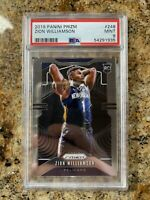 2019-20 Panini Prizm #248 Zion Williamson Pelicans RC Rookie PSA 9 MINT