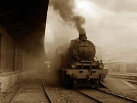 TRAIN VINTAGE LOCOMOTIVE PORTUGAL PHOTO ART PRINT POSTER PICTURE BMP562A