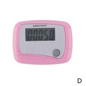 LCD Digital Step Pedometer Walking Calorie Counter Clip New Belt Distance HOT