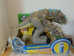 Mattel Jurassic World Thrashing Indomiunous Rex Imaginext Figure