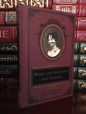 Pride and Prejudice & Zombies by Jane Austen Brand New Deluxe Heirloom Hardcover
