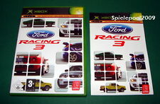 Ford Racing 3 fuer Microsoft Xbox mit Anleitung und OVP KOMPLETT