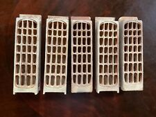 Vintage lot  Gas space heater Radiants Ceramic Brick Grate Dearborn
