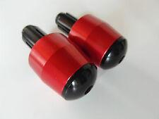 Manillar pesos Alu bar end suzuki gsx r 1000 k5 k6 k7 k8 k9 l0 l1 l2 l3 l4 rojo
