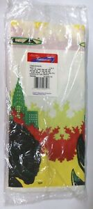 """VTG NEW Godzilla the Movie Paper Tablecloth Table Cover 54"""" x 102"""" (38.25 sq ft)"""