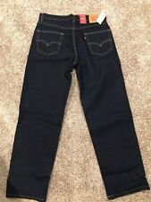 NWT Levi's 550 Relaxed Fit (big through thighs) Blue Jeans 1% Stretch (0061)