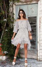 DIANE VON FURSTENBERG DVF Camila Silk Chiffon Animal Print Dress NWT $468 Size 0