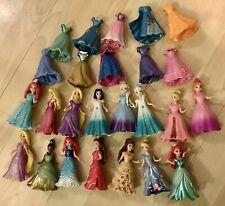 HUGE Disney Girl Figures Mattel Figures Removable Dresses
