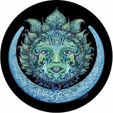Green Woman Spare Tire Cover Fits jeep, rv, campers, trailers, backup camera