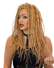Long Lace Front Dreadlock Wig | White, Blonde and Black | Steampunk  | Festival
