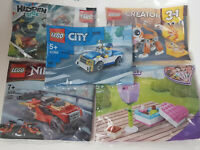 5 x Lego City Friends Hidden Side Ninjago Creator Polybags