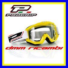 Occhiali PROGRIP 3201 Cross Enduro Motard ATV Quad PitBike Bici MTB DH Giallo