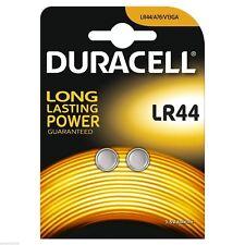 6 x Duracell LR44 Alkaline Button Cell Batteries Hexbug 1.5V LR 44 A76 AG13 357