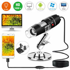 1000X USB Digital Mikroskop Lupe Fach Endoskop 8 LEDs HD Mini Microscope Kamera