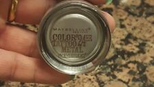 Maybelline Eye Color Tattoo 24hr By Eyestudio Cream gel Eye Shadow #60 Silver