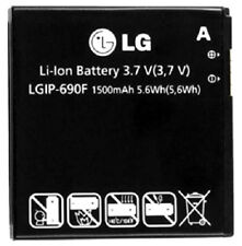New Original LG LGIP-690F OEM Battery Optimus 7Q 7 Quantum C900 C900K E900 Lot