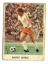 STICKER - SAFET SUSIC FC SARAJEVO LEGEND - STICKER FROM 1979