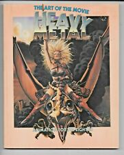 Heavy Metal Art Of The Movie 1981 Animation 1st Edition SC 128 pp VF- 0918432383