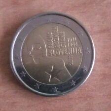 2011 SLOVENIJA SLOVENIA 2 Euro commemorativo Franc Rozman Stane