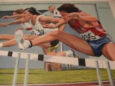 '110Meters Hurdles by William Nelson hand-signed artist proof