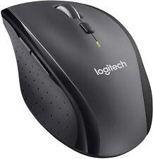 Logitech M705 Marathon Wireless Mouse - Sculpted Shape, 3-yr Battery Life -- NEW