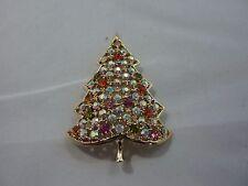 Vintage Kramer Christmas Tree Pin