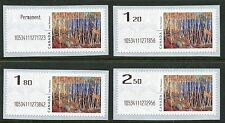 Weeda Canada 2016 Experimental Kiosk Computer-Generated Postage Thomson set of 4