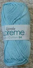 Wendy Supreme DK Luxury 1963 Skylight Cotton Yarn Max